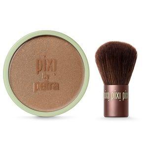 PIXI • Beauty Bronzer + Kabuki Brush